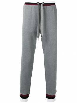 Dolce&Gabbana спортивные брюки с вышивкой GY1KAZG7RBN