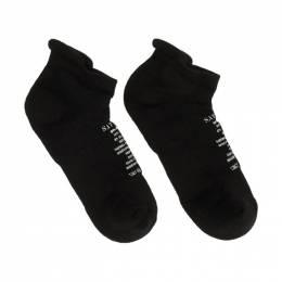 Satisfy Black Merino Low Socks 2960