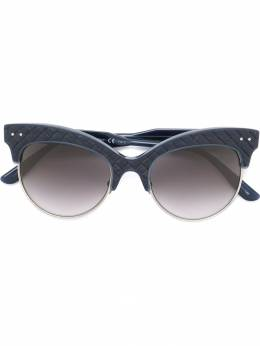 "Bottega Veneta Eyewear солнцезащитные очки ""кошачий глаз"" BV0014S"