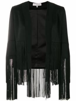 Galvan пиджак с бахромой 1004