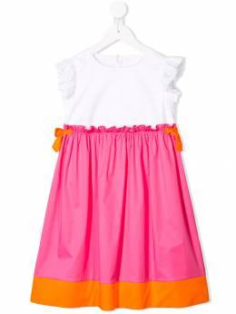 Il Gufo платье в стиле колор-блок без рукавов P19VM526C0046