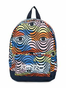Kenzo Kids - рюкзак с принтом глаза 56389358356300000000