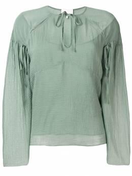3.1 Phillip Lim фактурная блузка с прорезью E1912712TFC