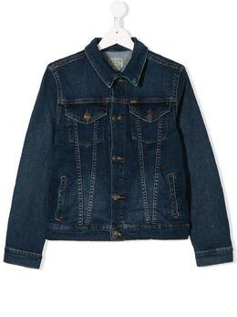 Ralph Lauren Kids джинсовая куртка 313698662