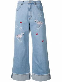 Vivetta укороченные расклешенные брюки 91VV406VIVPALAGONIA