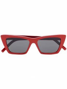 Saint Laurent Eyewear солнцезащитные очки в прямоугольной оправе SL276MICA