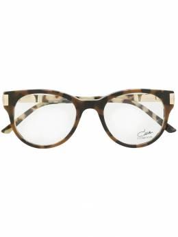 Cazal очки в круглой оправе 3058