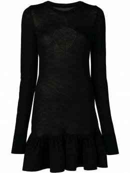Marques'Almeida платье с вырезными деталями SS19KN0042LWK