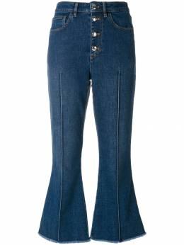 Sonia Rykiel укороченные джинсовые брюки 18104335AA