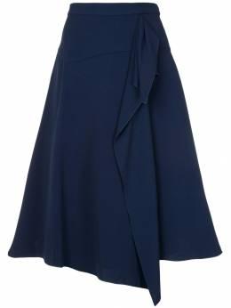 Delpozo расклешенная юбка А-образного силуэта 2181004004