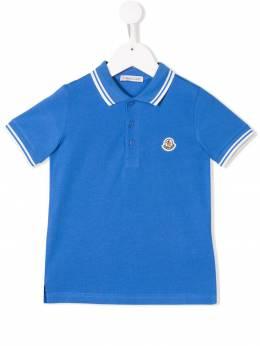 Moncler Kids рубашка-поло с логотипом 95483065058496W709