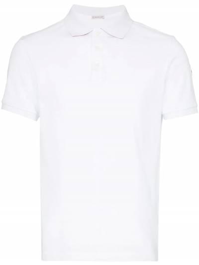 Moncler рубашка-поло с логотипом 830515084556 - 1