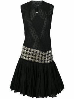 Junya Watanabe Comme Des Garcons Pre-Owned платье с английской вышивкой VOO012