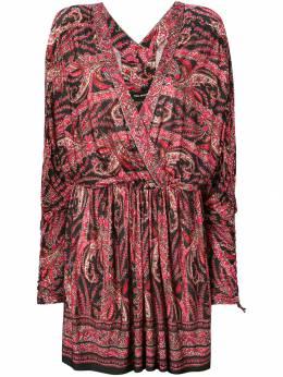 Isabel Marant короткое платье с принтом RO136519E019I