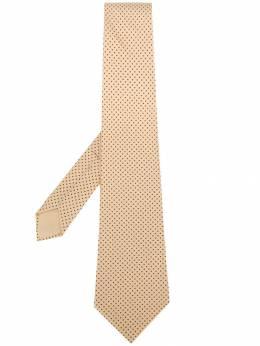 Hermes галстук в мелкую точку pre-owned HER150AE