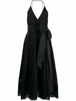 No. 21 платье миди с бантом N2MH2530357