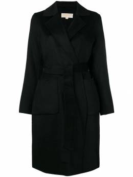MICHAEL Michael Kors belted single-breasted coat 77G3857M22