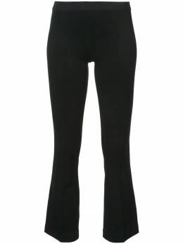 Helmut Lang укороченные расклешенные брюки I04HW207