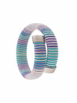 Carolina Bucci плетеный браслет без застежки CA3WSEASHELL