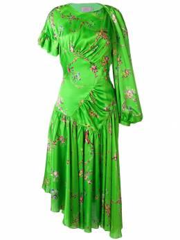Preen By Thornton Bregazzi расклешенное платье с цветочным принтом 180