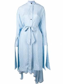 Petar Petrov платье-рубашка с текстовым принтом R19D81