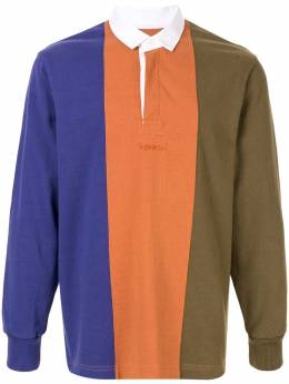 Supreme рубашка-регби в стиле колор-блок SU5461