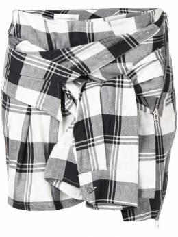 Faith Connexion декорированная юбка в клетку W1401T00228