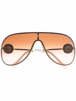 Miu Miu Eyewear солнцезащитные очки-авиаторы SMU67U