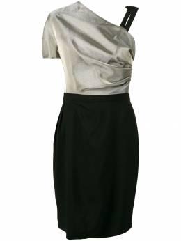 Lanvin асимметричное платье RWDR211T3923A18