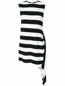 Calvin Klein 205W39nyc полосатое расклешенное платье 81WWDB84V048