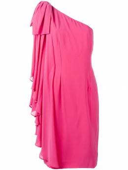 Jean Louis Scherrer Pre-Owned платье на одно плечо JLS750P