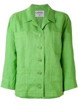 Chanel Pre-Owned пиджак свободного кроя CH780N