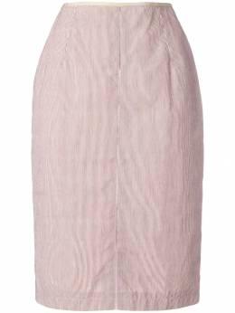 Jean Paul Gaultier Pre-Owned юбка-карандаш в полоску GAU150P