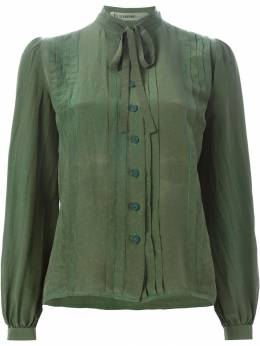 Jean Louis Scherrer Pre-Owned рубашка с завязками на бант SCHE220