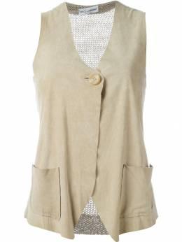 Dolce&Gabbana Pre-Owned жилетка с вязаной вставкой сзади DLC230
