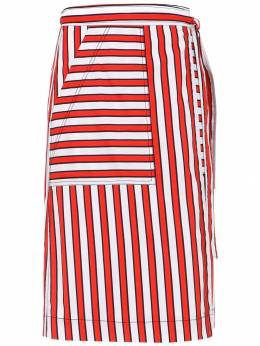 Reinaldo Lourenco striped skirt 17070011