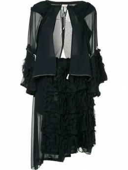 Comme Des Garcons Pre-Owned многослойное платье с курткой GAB028