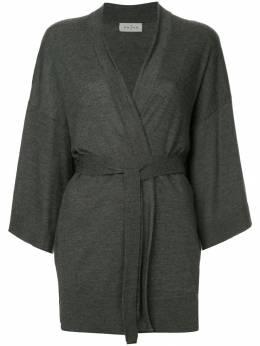 Le Kasha кашемировое пальто с поясом TOYAOKE