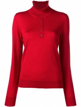 Carven ruffled neck jumper 8719PU051