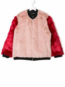 Andorine куртка-бомбер из искусственного меха ADW1824AT