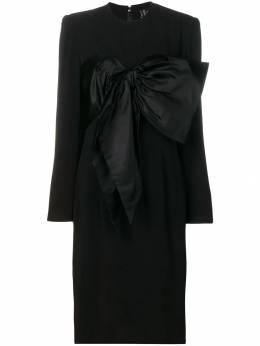 Jean Louis Scherrer Pre-Owned платье с бантом JLS350B