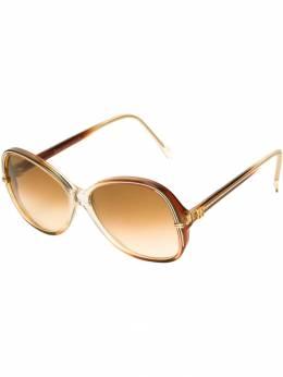 Balenciaga Pre-Owned солнцезащитные очки 'бабочка' BC224
