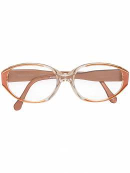 Yves Saint Laurent Pre-Owned очки в прозрачной оправе SALM180