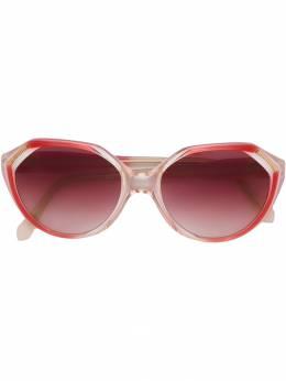 Yves Saint Laurent Pre-Owned солнцезащитные очки с угловатой оправой YVLR180