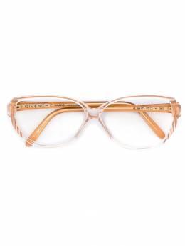 Givenchy Pre-Owned очки с круглыми линзами GIVNC180