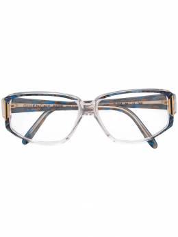 Givenchy Pre-Owned очки в прямоугольной оправе GVX150