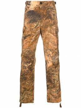 Heron Preston брюки-карго с принтом HMCF004S19743020