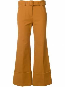 Sara Battaglia укороченные брюки SB3002304S9278