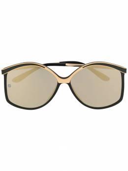 Elie Saab солнцезащитные очки структурной формы ES023GS