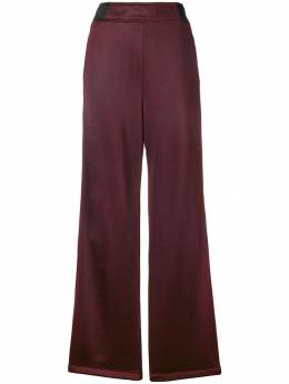 T By Alexander Wang side button stripe trousers 4C284011C1